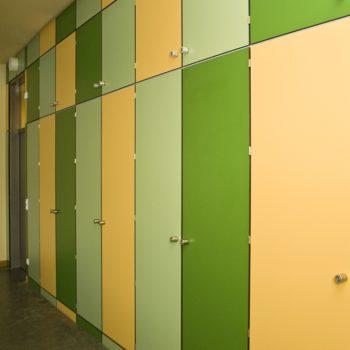 Goethe-Gymnasium Frontansicht Einbauschränke 1