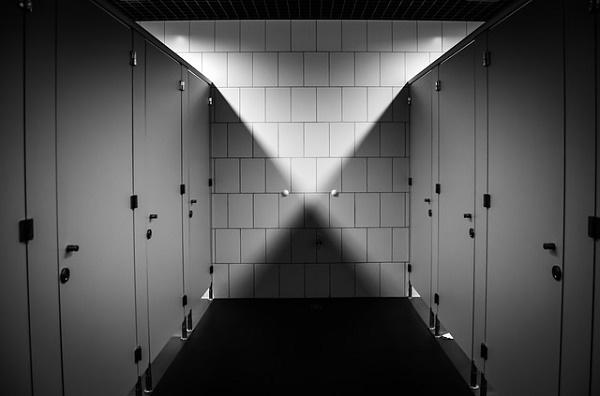 Button WC-Trennwandanlage Tischlerei Dähne