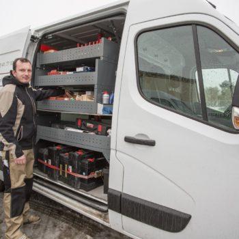 Tischlerei Dähne Transporter