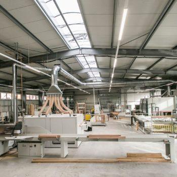 Tischlerei Dähne Holz Werk 3 Innenansicht